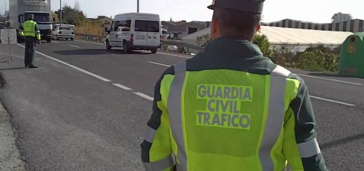 Control de la Guardia Civil (FOTO: archivo)